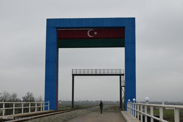 بازدید وزیر اقتصاد و صنعت جمهوری آذربایجان از راه آهن آستارا