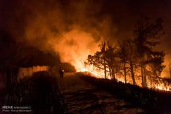 İran'daki orman yangınları kontrol altına alındı