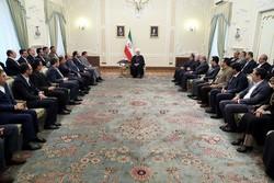 روحاني:  امريكا فشلت في تقويض الاتفاق النووي او الغائه