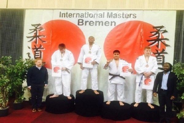 Iranian judoka bags bronze medal in Intl. tournament in Germany