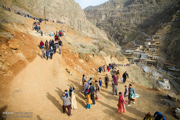 Kürdistan eyaletinde bayram coşkusu
