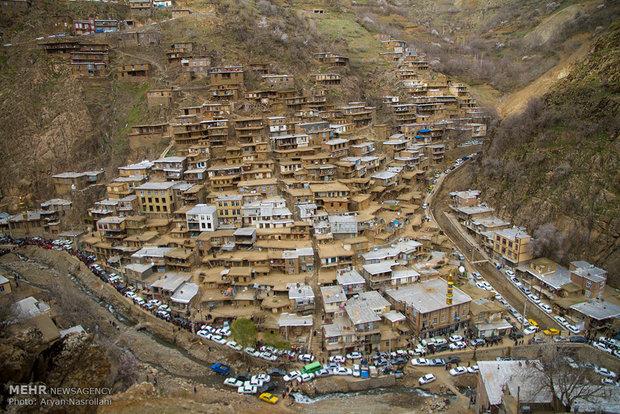 جشن نوروز در روستای تنگی سر کردستان