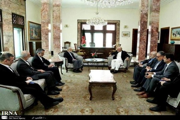Afghan president underscores boosting bilateral ties with Iran