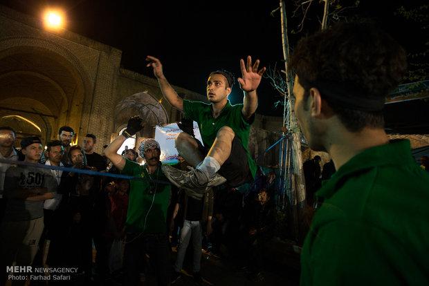 افتتاحیه نخستین جشنواره ملی فرهنگ و سنن ایرانی