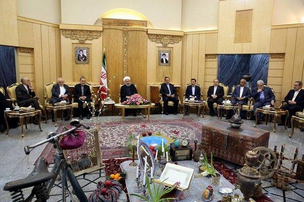Rouhani embarks on trip to Turkmenistan, Azerbaijan