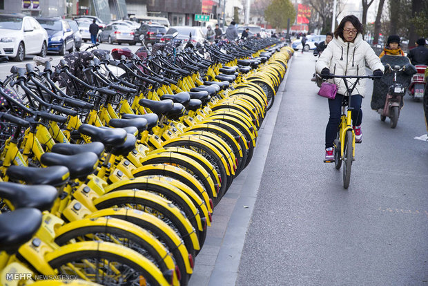 دوچرخه های بلااستفاده در چین