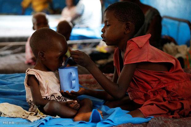 گرسنگی در کنگو