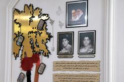 دیدار با پدر شهیدان خواجه مظفری در شاهرود