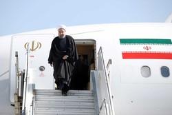 روحاني يصل إلى العاصمة التركية أنقرة