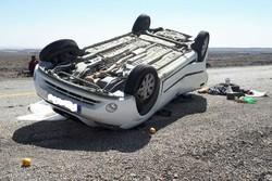 وقوع ۱۳ حادثه رانندگی در محورهای استان سمنان/ یک نفر جان باخت