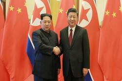 رئیس جمهور چین و رهبر کره شمالی