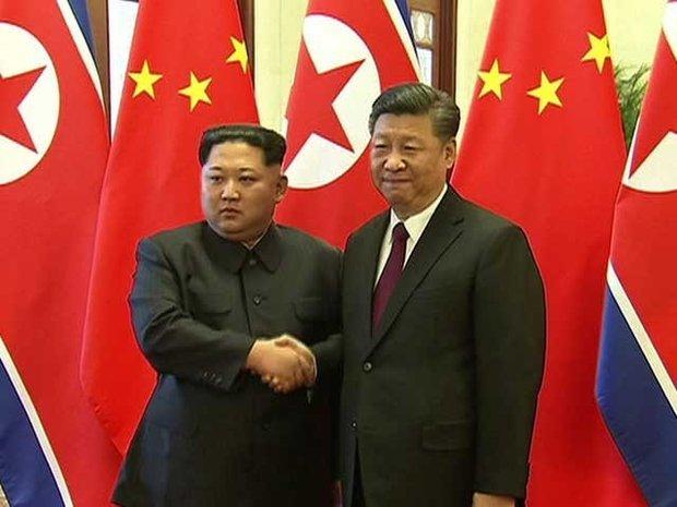 شمالی کوریا کے صدر کی چینی صدر سے ملاقات