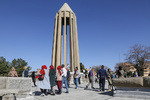 مسافران نوروزی در همدان