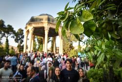 Şiraz kentinden büyüleyici Nevruz manzaraları