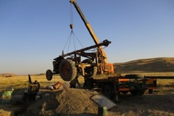 توقیف یکدستگاه تراکتور حفاری غیرمجاز در کبودرآهنگ