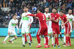 تیم ملی فوتبال ایران و الجزایر