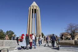 Nevruz yolcuları Hemedan kentinde