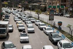 ترافیک سنگین در محدوده جاجرود/تردد در هراز نیمه سنگین است