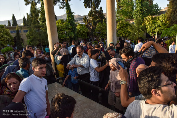 حافظیه و سعدیه شیراز در ایام نوروز