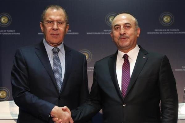 وزرای خارجه روسیه و ترکیه دیدار میکنند