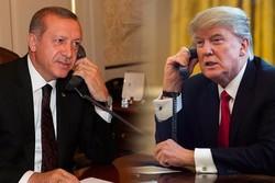 تماس تلفنی اردوغان و ترامپ پیرامون مسائل منطقهای