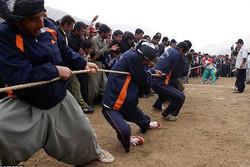 جشنواره نوروزی ورزش روستایی و بازیهای بومی سقز برگزار شد