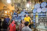 بازار وکیل و سرای مشیر شیراز در نوروز