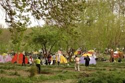 تعطیلی پارک ها و تفرجگاه های کاشان در ۱۳ فروردین