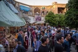 """سوق """"وكيل وسرايا مشير"""" في شيراز جنوب ايران"""