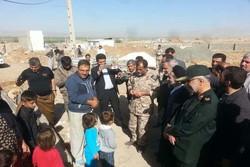 احداث ۴۰ واحد مسکن زلزله زدگان  سرپلذهاب توسط سپاه تهران بزرگ