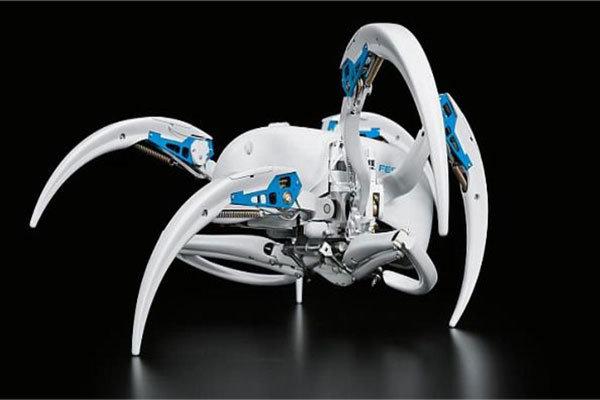 عنکبوت رباتیک به چرخ غلتان تبدیل می شود