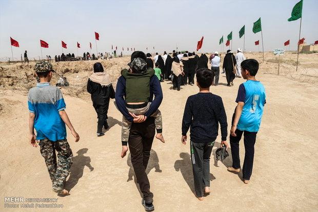 2750163 - اعزام ۱۶۰دانش آموز عضو انجمن اسلامی مدارس مرکزی به مناطق عملیاتی