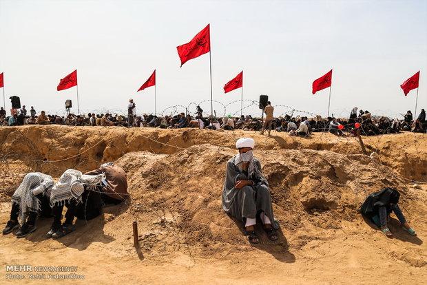 ۱۲۰ دانش آموز باشتی به مناطق عملیاتی جنوب اعزام شدند