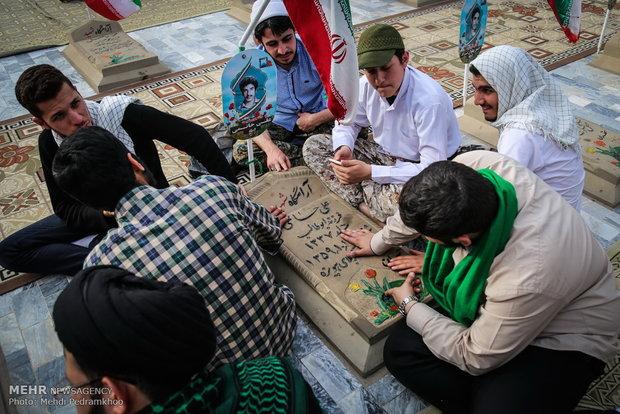 Nevruz Bayramı'nda şehitler unutulmadı