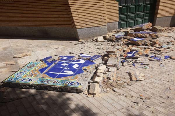 خسارت به زلزله سرپلذهاب