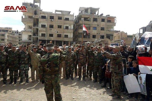 تعثر تطبيق الاتفاق بين الجيش السوري والمسلحين في دوما