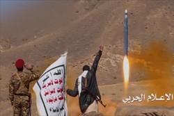 نیروهای یمنی موشک بدر به جنوب عربستان شلیک کردند