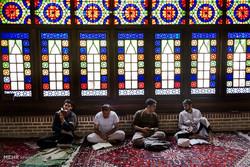 آئین اعتکاف در مسجد جامع تبریز