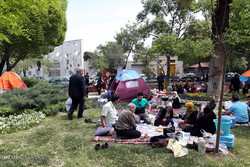 مردم قزوین آخرین روز تعطیلات نوروز را در طبعیت سپری کردند