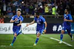 دیدار تیم های فوتبال استقلال ایران و الریان قطر