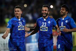 دیدار تیم های استقلال ایران و الریان قطر