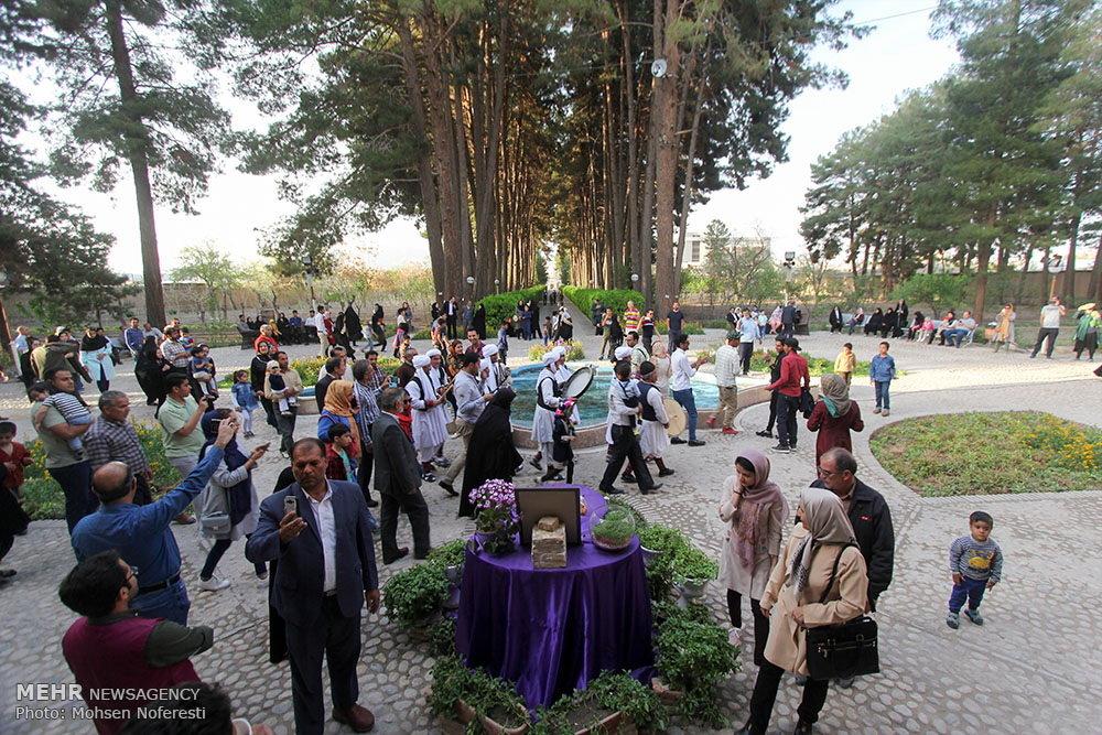 احتفال النيروز على الحدود المشتركة بين إيران واذربيجان
