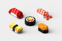 سوشی چاپ سه بعدی