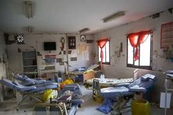 بازسازی بیمارستان تخریب شده یا سرپوش گذاشتن روی شوهای انتخاباتی