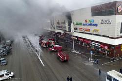 تخلیه بیش از ۴ هزار نفر از یک مرکز خرید در مسکو