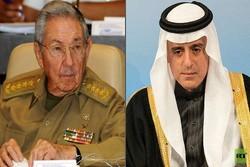 دیدار «عادل الجبیر» با رئیس جمهوری کوبا