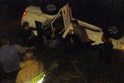 سقوط یک دستگاه پراید به استخر در لنگرود/۵ نفر جان باختند