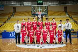 تیم زیر 16 سال بسکتبال