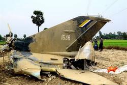 یک فروند جت نظامی در میانمار سقوط کرد
