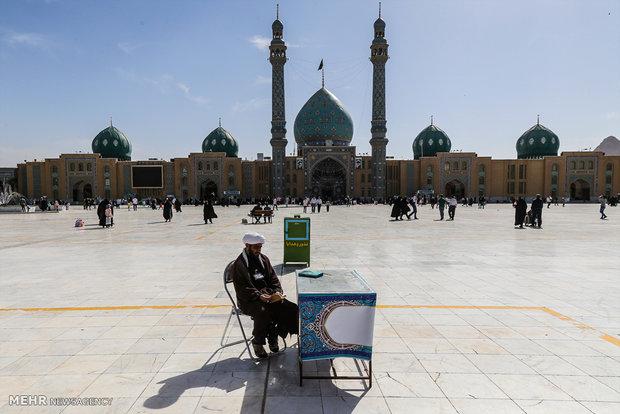 بهرهگیری ۴۵ هزار زائر از فعالیتهای تبلیغی مبلغان در مسجد جمکران
